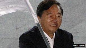 File image of Nanjing Mayor Ji Jianye, taken at the Singapore 2010 Youth Olympic Games on 26 August 2010