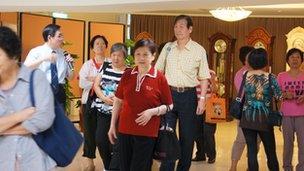 Taiwan senior citizens