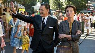 Tom Hanks and Emma Thompson in Saving Mr Banks