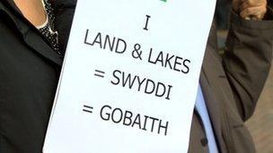 Rali i gefnogi datblygiad Land and Lakes