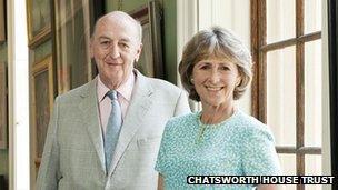 Duke and Duchess of Devonshire. Pic: Chatsworth House Trust