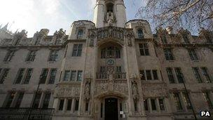 Supreme Court in Westminster