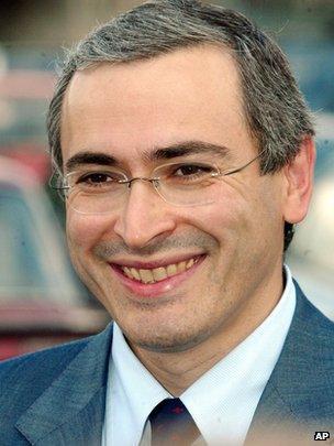 Mikhail Khodorkovsky in Moscow, 16 July 2003