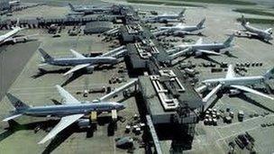 Maes awyr Heathrow