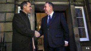Mark Carney agus Ailig Salmond