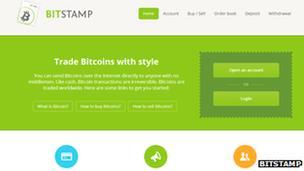 Bitstamp screenshot