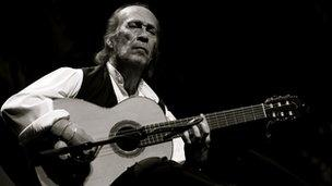 Paco de Lucia performs at The Royal Festival Hall