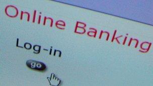 Online bank login