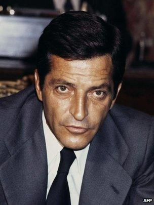 Adolfo Suarez in 1977