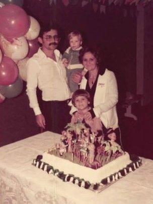 Uchoa family in 1979