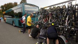 Beacons bike bus