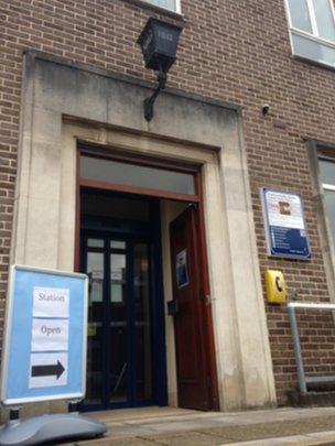 Pontypool police station