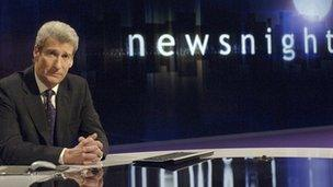 Rhaglen Newsnight