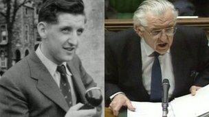 Wyn Roberts y newyddiadurwr a'r aelod seneddol a ddaeth yn weinidog ac Arglwydd.