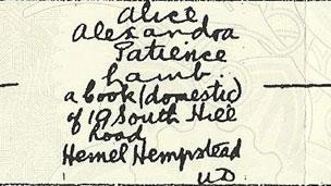 extract from birth certificate