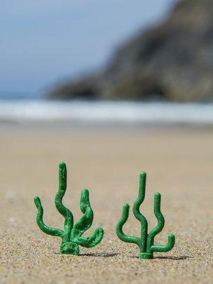 Lego seagrass