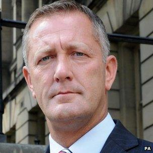 South Yorkshire's Police and Crime Commissioner Shaun Wright