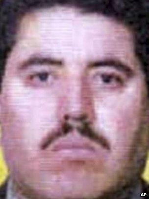 Vicente Carrillo Fuentes - from FBI webpage