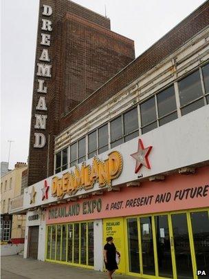 Dreamland cinema building