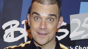 Robbie Williams, 2005