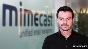 Mimecast chief technology officer and co-founder Neil Murray