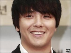 South Korean star Park Yong-Ha found dead - BBC News