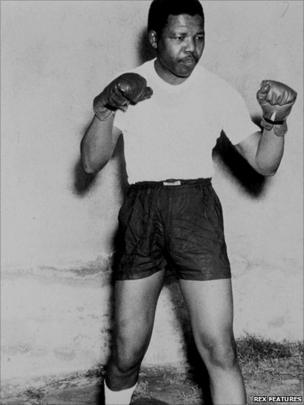Mandela boxing