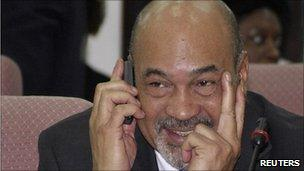 Desi Bouterse in June 2010