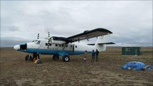 Twin Otter aircraft
