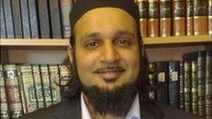 Muslim scholar Amer Jamil
