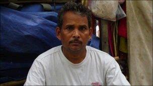 Street vendor Ram Prakash