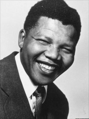 Mandela in 1956
