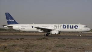File photo of one of Airblue's Airbus 321