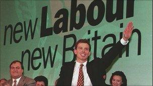 Tony Blair at 1994 Labour conference