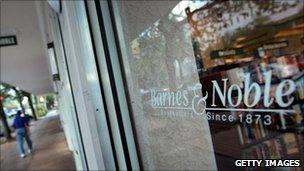 Barnes & Noble shopfront
