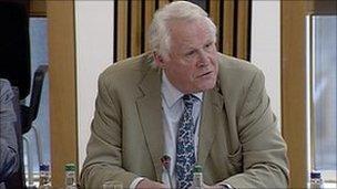 Conservative MSP Ted Brocklebank