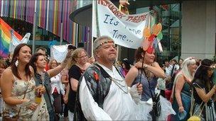 Liverpool Pride parade
