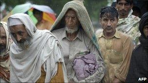 Pakistan flood victims