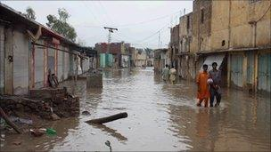 Flood in Nowshera
