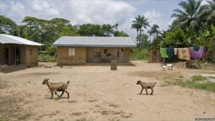 The village of Bombohun