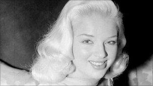 Diana Dors in 1955