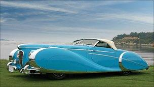 The 1949 Delahaye Roadster - image courtesy RM Auctions