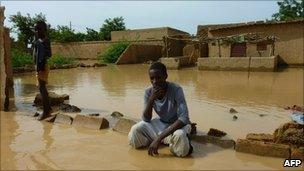 Floods in Niamey, Niger - 6 August 2010