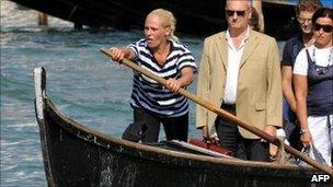 Giorgia Boscolo pictured in July 2009