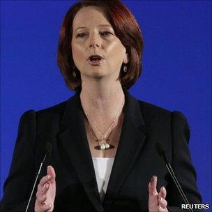 Julia Gillard launches Labor campaign in Brisbane