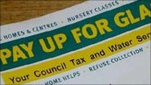 Glasgow Council Tax bill