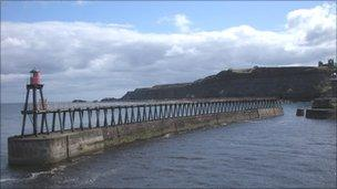 East pier - courtesy of Hayley Green