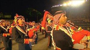 Jordan marching band