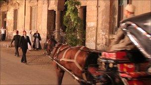 A series being filmed on the Muslim Brotherhood