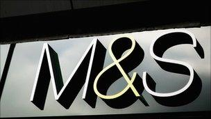 Marks and Spencers shop